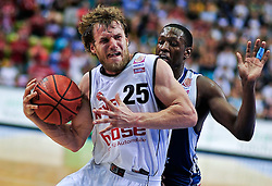 09.06.2010, Ballsporthalle, Frankfurt, GER, 1.BBL - Play Off Finale, Deutsche Bank Skyliners vs Brose Baskets Bamberg, im Bild Anton Gavel (Bamberg #25), Jimmy McKinney (Skyliners USA #20),  EXPA Pictures © 2010, PhotoCredit: EXPA/ nph/  Roth / SPORTIDA PHOTO AGENCY