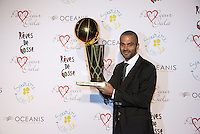 "Tony Parker's Charity gala at ""Abbaye de Colonges"""
