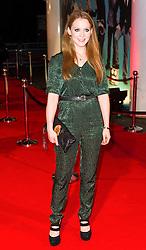 © London News Pictures. 07/11/2013. London, UK. Olivia Hallinan attending Virgin Media Shorts, BFI IMAX. Photo Credit: Raimondas Kazenas/LNP