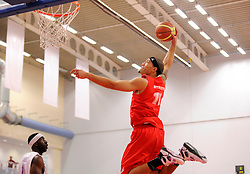 Bristol Flyers' Greg Streete slam dunks  - Photo mandatory by-line: Joe Meredith/JMP - Mobile: 07966 386802 - 18/04/2015 - SPORT - Basketball - Bristol - SGS Wise Campus - Bristol Flyers v Leeds Force - British Basketball League