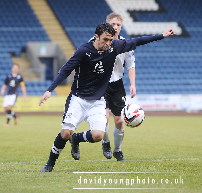 Jamie Reid - Dundee v Queen of the South Reserves, SPFL reserve league at Dens Park<br /> <br />  - &copy; David Young - www.davidyoungphoto.co.uk - email: davidyoungphoto@gmail.com
