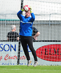 PAUL BASTOCK GOALKEEPER CORBY TOWN, Corby Town v Basford  Ltd, EVO Stick Northern Premier Division 1 South, Steel Park Saturday 26th August 2017 Score 1-4<br /> Photo:Mike Capps/kappasport.co.uk