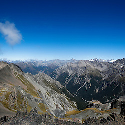 Avalanche Peak, South Island of New Zealand