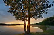 Sunrise over Foote Pond ~ Au Sable River