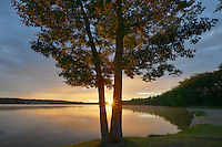 Sunrise over Foote Pond ~ Au Sable River