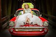 57 Chevy bride Whitney