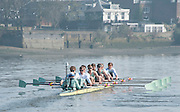 London, Great Britain,  CUBC, Blue Boat, Ian MIDDLETON (Cox), Henry HOFFSTOT, Ben RUBLE, Matthew JACKSON, William WARR, Alexander LEICHTER, Joshua HOOPER, Luke JUCKETT, Jasper HOST (Bow)BNY Mellon, University Men's Boat Race Tideway Week, Putney to Mortlake. ENGLAND. <br /> <br /> Thursday 09/04/2015<br /> <br /> [Mandatory Credit;Intersport-images] .   Empacher.