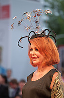 Marina Ripa di Meana at the gala screening for the film Spotlight at the 72nd Venice Film Festival, Thursday September 3rd 2015, Venice Lido, Italy.