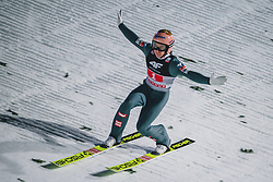06.01.2020, Paul Außerleitner Schanze, Bischofshofen, AUT, FIS Weltcup Skisprung, Vierschanzentournee, Bischofshofen, Finale, im Bild Stefan Kraft (AUT) // Stefan Kraft of Austria during the final for the Four Hills Tournament of FIS Ski Jumping World Cup at the Paul Außerleitner Schanze in Bischofshofen, Austria on 2020/01/06. EXPA Pictures © 2020, PhotoCredit: EXPA/ Dominik Angerer