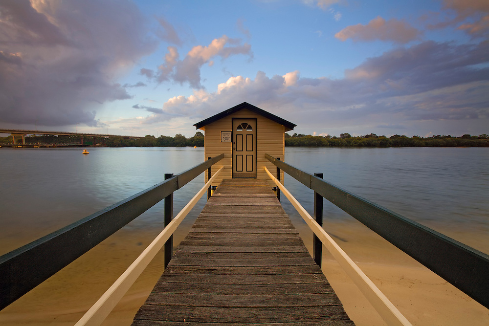 One of the few jetties along the Maroochy river. It's a lucky fisherman who has the key to this scenic spot.