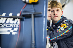March 2, 2018 - Las Vegas, Nevada, United States of America - March 02, 2018 - Las Vegas, Nevada, USA: William Byron (24) hangs out in the garage during practice for the Pennzoil 400 at Las Vegas Motor Speedway in Las Vegas, Nevada. (Credit Image: © Chris Owens Asp Inc/ASP via ZUMA Wire)