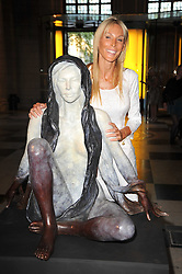 JENNIFER WADE at a private view of a new collection of bronzes and original paintings by artist Jonathan Wylder and his muse Jennifer Wade held at the V&A Museum, London on 27th April 2011.