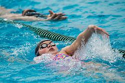 Katja Fain during practice session of Slovenian Swimming National Team, on June 7, 2017 in Zusterna, Koper / Capodistria, Slovenia. Photo by Vid Ponikvar / Sportida