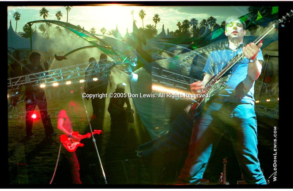 The Kills at Coachella, April 30, 2005.