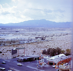 Nevada - Las Vegas,  circa 1968<br /> <br />  Photos taken by George Look.  Image started as a color slide.