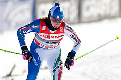 05.01.2011, Nordic Arena, Toblach, ITA, FIS Cross Country, Tour de Ski, Qualifikation Sprint Women and Men, im Bild Virginia De Martin Topranin (ITA, #14). EXPA Pictures © 2011, PhotoCredit: EXPA/ J. Groder