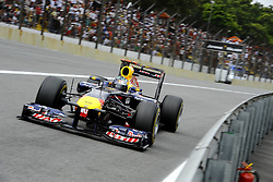 26.11.2011, Autodromo Jose Carlos Pace, Sao Paulo, BRA, F1, Grosser Preis von Brasilien, im Bild Sebastian Vettel (GER), Red Bull Racing // during the Formula One Championships 2011 Grand Prix of Brazil held at the Autodromo Jose Carlos Pace, Sao Paulo, Brazil on 2011/11/26. EXPA Pictures © 2011, PhotoCredit: EXPA/ nph/ Dieter Mathis..***** ATTENTION - OUT OF GER, CRO *****
