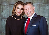 30.01.2018; Amman, Jordan: QUEEN RANIA  AND KING ABDULLAH OF JORDAN<br /> at the Royal Hashemite Court on the ocassion of King Abdullah&rsquo;s 56 birthday.<br /> The king was born on 30th January 1962.<br /> Mandatory Credit Photo: &copy;HRC/NEWSPIX INTERNATIONAL<br /> <br /> (Failure to credit will incur a surcharge of 100% of reproduction fees)<br /> IMMEDIATE CONFIRMATION OF USAGE REQUIRED:<br /> Newspix International, 31 Chinnery Hill, Bishop's Stortford, ENGLAND CM23 3PS<br /> Tel:+441279 324672  ; Fax: +441279656877<br /> Mobile:  07775681153<br /> e-mail: info@newspixinternational.co.uk<br /> Please refer to usage terms. All Fees Payable To Newspix International