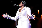 American Idol Season 3 winner Fantasia Performing At The Fox Theater 2011