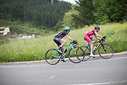 Laura Massey (GBR) of Drops Cycling Team rides mid-pack during Stage 3 of the Emakumeen Bira - a 77.6 km road race, starting and finishing in Antzuola on May 19, 2017, in Basque Country, Spain. (Photo by Balint Hamvas/Velofocus)