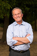 Congressman Todd Akin stands in for a portrait during a rally at Springfield Lake Park on July 30, 2012 in Springfield, Missouri. (David Welker/TurfImages.com).