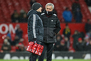 Manchester United Manager Jose Mourinho in warm up during the The FA Cup match between Manchester United and Brighton and Hove Albion at Old Trafford, Manchester, England on 17 March 2018. Picture by Phil Duncan.