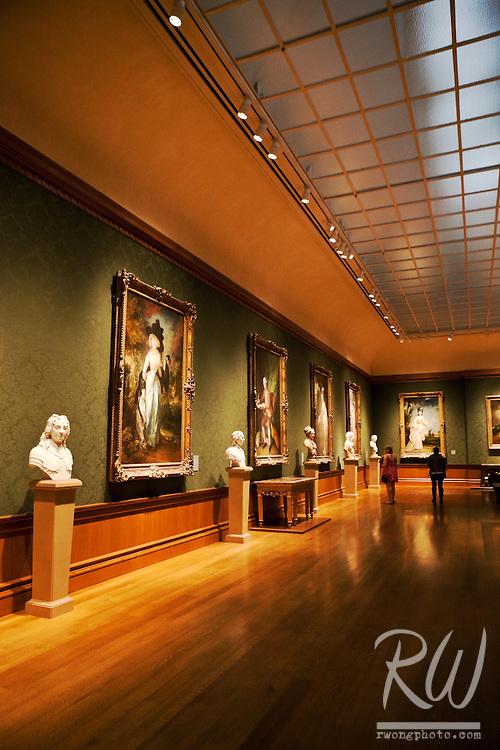 Thornton Portrait Gallery in the Huntington Art Gallery, San Marino, California
