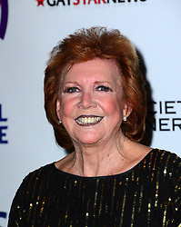 Cilla Black attends Out In The City and g3 Readers' Awards, second annual awards thrown by gay magazines g3 and Out In The City, recognising outstanding individuals, companies and groups in the field of LGBT equality, at The Landmark Hotel,  London, United Kingdom. Friday, 25th April 2014. Picture by Nils Jorgensen / i-Images