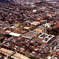 Aerial photograph of the Virginia Commonwealth University, Richmond