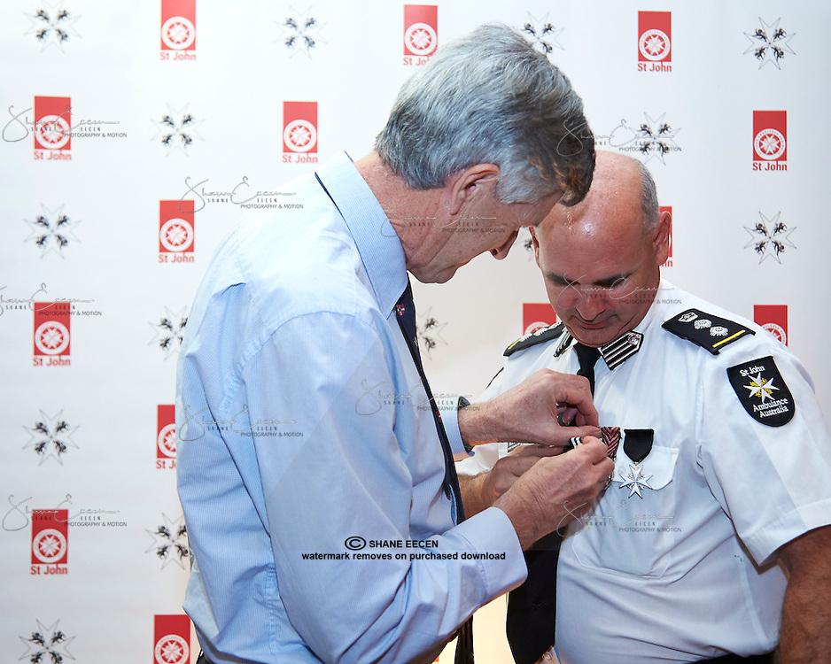 St Johns Ambulance Volunteer Awards, Rydges Airport Resort.21 November 2014 Photo Shane Eecen/ Creative Light Studios