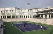 Rafa Nadal Academy in Manacor, Mallorca, Blick auf den Centre Court, <br /> <br />  - Rafa Nadal Academy -  -  Rafa Nadal Academy - Manacor - Mallorca - Spanien  - 24 October 2016. <br /> &copy; Juergen Hasenkopf