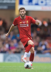 BRADFORD, ENGLAND - Saturday, July 13, 2019: Liverpool's Adam Lallana during a pre-season friendly match between Bradford City AFC and Liverpool FC at Valley Parade. (Pic by David Rawcliffe/Propaganda)  BRADFORD, ENGLAND - Saturday, July 13, 2019: Liverpool's xxxx during a pre-season friendly match between Bradford City AFC and Liverpool FC at Valley Parade. (Pic by David Rawcliffe/Propaganda)