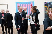 MICHAEL LANDY; BILL WOODROW; FIONA RAE, Royal Academy of Arts Annual dinner. Royal Academy. Piccadilly. London. 1 June <br /> <br />  , -DO NOT ARCHIVE-© Copyright Photograph by Dafydd Jones. 248 Clapham Rd. London SW9 0PZ. Tel 0207 820 0771. www.dafjones.com.