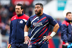 Siale Piutau of Bristol Rugby looks on - Rogan Thomson/JMP - 26/02/2017 - RUGBY UNION - Ashton Gate Stadium - Bristol, England - Bristol Rugby v Bath - Aviva Premiership.