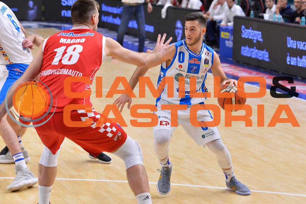 SASSARI 16 DICEMBRE 2017<br /> Banco di Sardegna Dinamo Sassari - The Flexx Pistoia<br /> LegaBasket LBA PosteMobile 2017/2018<br /> NELLA FOTO Marco Spissu<br /> FOTO CIAMILLO - Luigi Canu