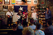 8-12-10 --- The band Trinity River folk perform at AllGood Cafe.
