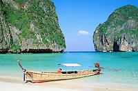 Thailande - Krabi province - Ko Phi Phi Phi Phi Le - Ao Maya