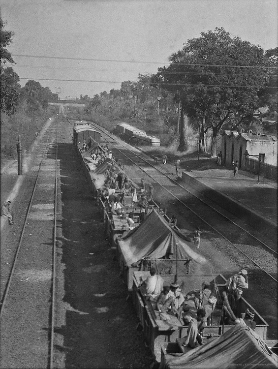 Bolpur Railway Station, near Calcutta, India, 1929