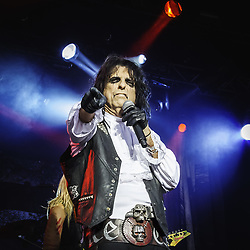 July 27, 2017 - Stockholm, Stockholm, Sweden - Alice Cooper in concert, performing at Gröna Lund, Stockholm, Sweden, 2017-07-27. Photo: Helena Larsson / IBL bildbyrà (Credit Image: © Helena Larsson/IBL via ZUMA Press)