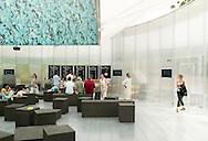 SERPENTINE PAVILION 2006, LONDON, W2 PADDINGTON, UK, REM KOOLHAAS - OFFICE FOR METROPOLITAN ARCHITECTURE, INTERIOR, INTERIOR SHOWING CAFE