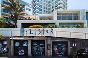 Luxury Apartments overlooking Bondi Beach, with Graffiti, Sydney, Australia