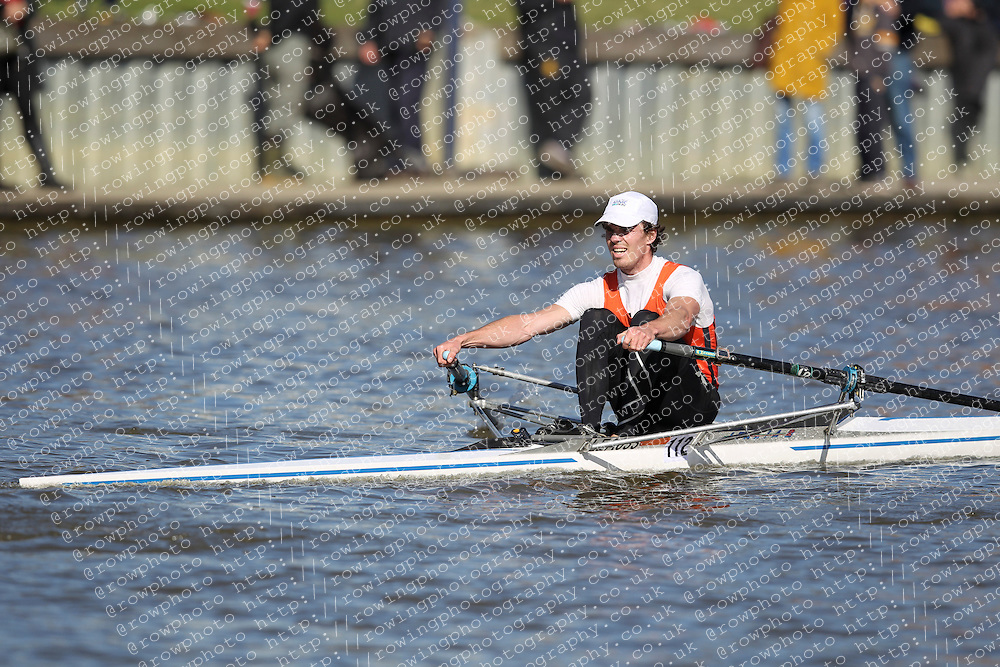 29.09.2012. Wallingford Long Distance Sculls 2012, The River Thames. Division 1. IM2 1x. Lea Rowing Club.
