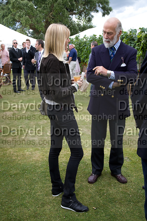 Lady Emily Compton; Prince Michael of Kent, The Cartier Style et Luxe Concours lunch at the Goodwood Festival of Speed. July 13, 2008  *** Local Caption *** -DO NOT ARCHIVE-© Copyright Photograph by Dafydd Jones. 248 Clapham Rd. London SW9 0PZ. Tel 0207 820 0771. www.dafjones.com.