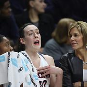 Breanna Stewart, UConn, during the UConn Vs SMU Women's College Basketball game at Gampel Pavilion, Storrs, Conn. 24th February 2016. Photo Tim Clayton