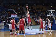 Andrea Crosariol<br /> Nazionale Italiana Maschile Senior - 2019 FIBA Basketball World Cup Qualifiers<br /> Croazia Italia Croatia Italy<br /> FIP 2017<br /> Zagabria, 26/11/2017<br /> Foto M.Ceretti / Ciamillo-Castoria