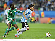 2010 FIFA World Cup - ARGENTINE v NIGERIA