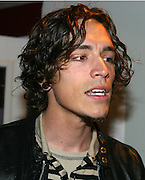 Brandon Boyd of Incubus backstage at KROQ's Dysfunctional Family Picnic Concert at Jones Beach Theater in Long Island, NY; June 8, 2002. Photo by Sara Jaye/PictureGroup