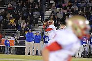 Lafayette High's Jeremy Liggins (1) passes vs. Senatobia High in Senatobia, Miss. on Friday, October 21, 2011. Lafayette High won.
