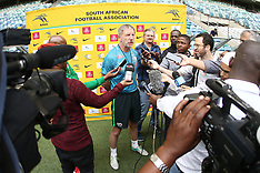 2019 AFCON Qualifier : SA Training Session