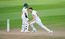 Craig Overton of Somerset celebrates the wicket of Samit Patel.  - Mandatory by-line: Alex Davidson/JMP - 22/09/2016 - CRICKET - Cooper Associates County Ground - Taunton, United Kingdom - Somerset v Nottinghamshire - Specsavers County Championship Division One
